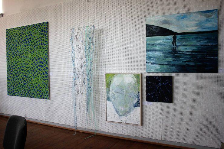 Indtryk af udstillingen i Rebbøl 2016