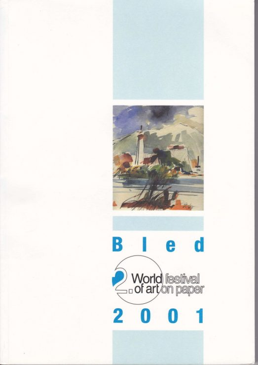 Katalog forside - World Festival of Art on Paper 2001- Lars Stounberg