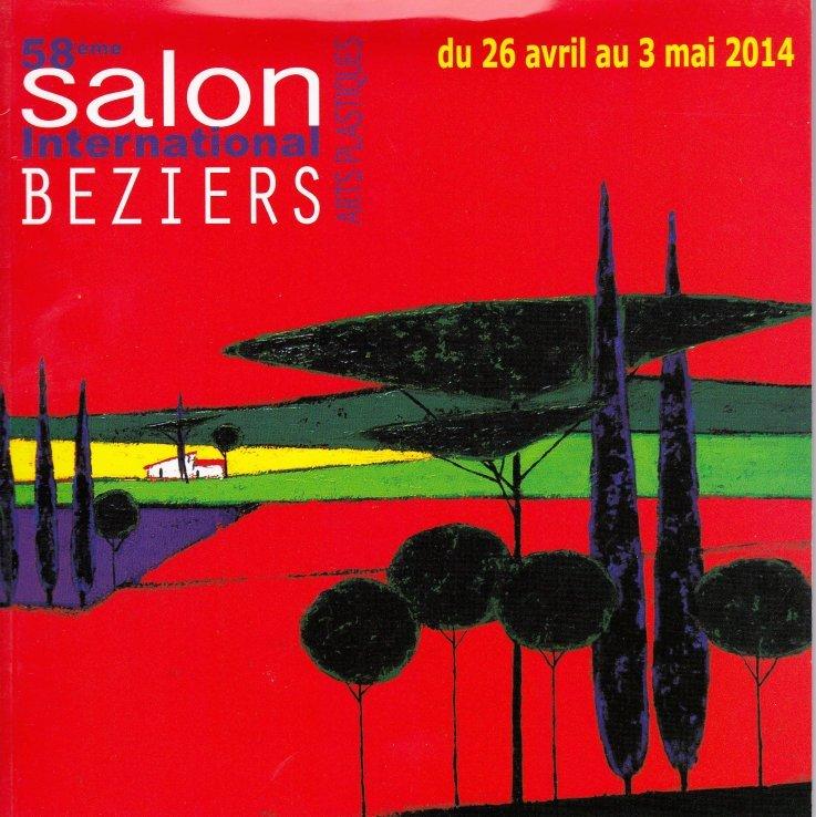 Forside til katalog 58ème Salon International Beziers 2015