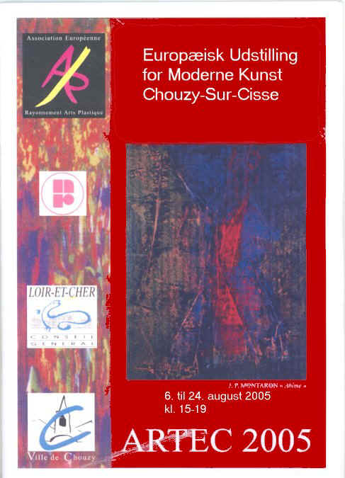 Katalog for udstillingen ARTEC 2005 Salon Européen D'Art Contemporain, Frankrig