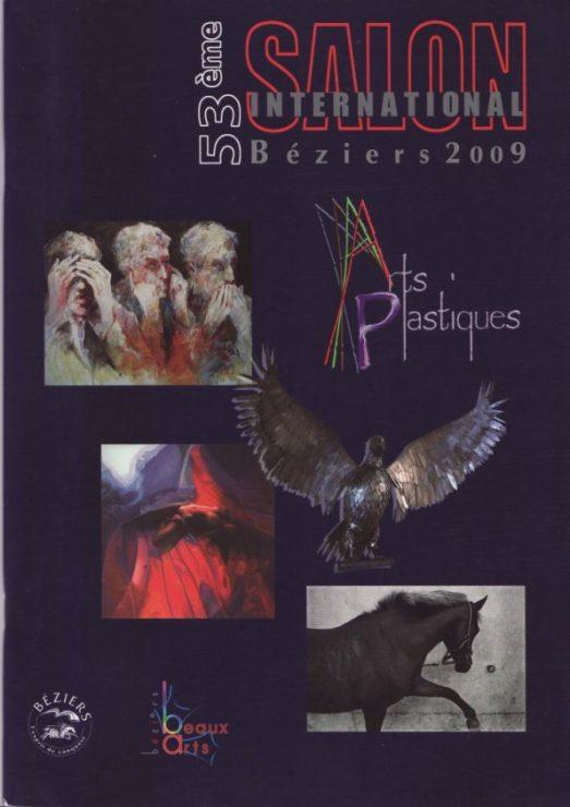 Katalog forside - 53eme Salon International Beziers 2009 - Lars Stounberg