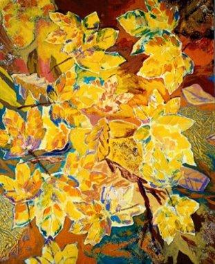 Lars Stounberg maleri på den censurerede udstilling - 6eme Grand Prix International du Luberon