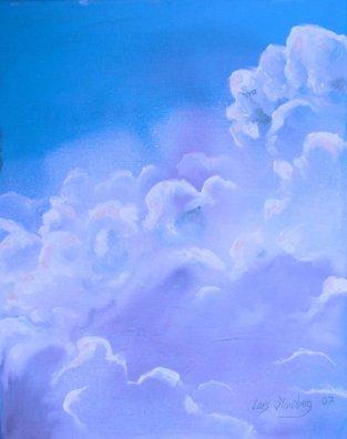 Lars Stounbergs maleri på den censurerede udstilling - Aigle de Nice International 2007