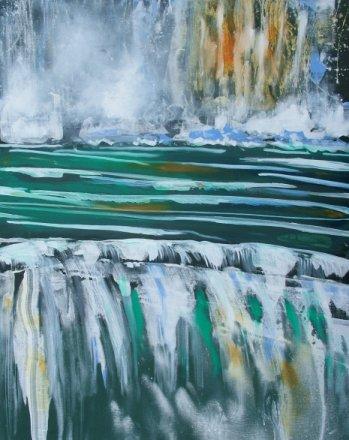 Lars Stounbergs maleri paa censureret udstilling 15ème Salon International d'Art d'Argeles-sur-Mer 2009, Frankrig