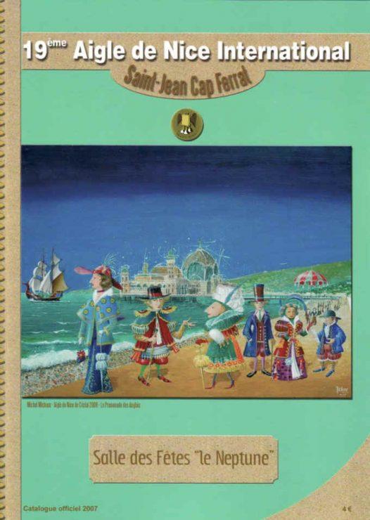 Katalog 2007 fra den censurede udstilling    Aigle de Nice International 2007