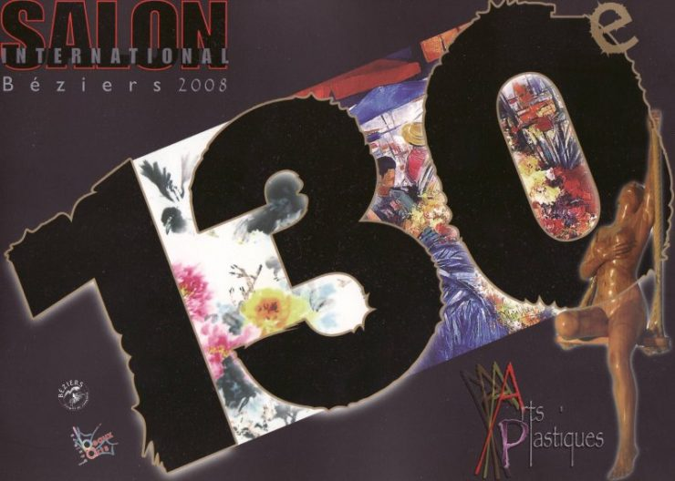 Katalog 2008 fra den censurede udstilling  52eme Salon International Beziers 2008
