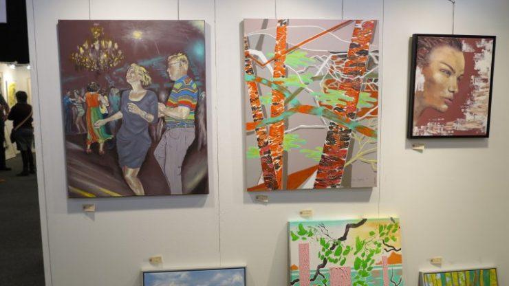 Hillerød Kunstdage 2015 - Lars Stounbergs stand