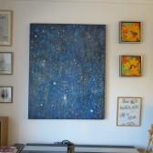 Stjernehimmel – maleri på vægge – Lars Stounberg