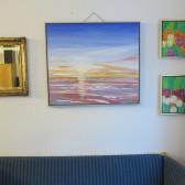 Solopgang – maleri på vægge – Lars Stounberg