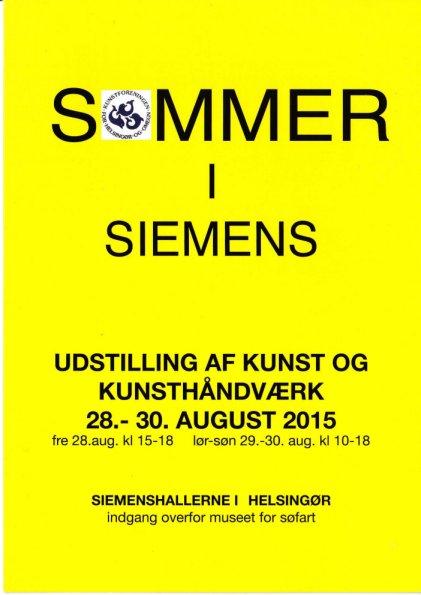 Katalog for Sommerudstilling Helsingør - Sommer i Siemens 2015
