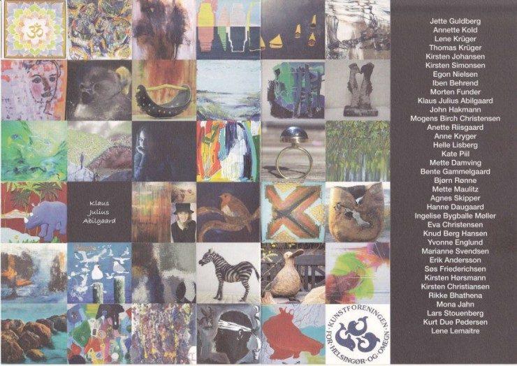 Katalog for Sommerudstilling i Helsingør – Sommer i Siemens 2015 – Side 2