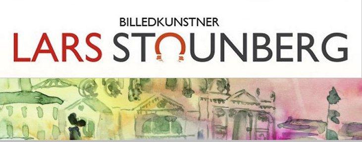 Plakater af akvarel med venedigmotiv billedkunstner Lars stounberg