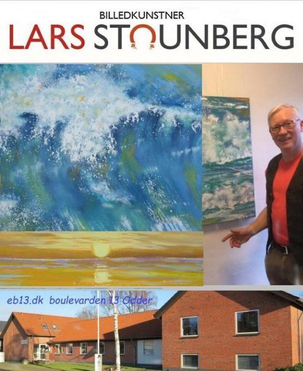 Maleri-udstilling Odder - Billedkunstner Odder Lars Stounberg