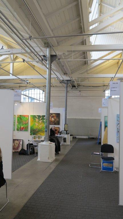 Et kig på udstillingen Art Nordic 2015 - København - Lars Stounbergs