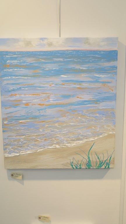 Art Nordic 2015 - København - Lars Stounbergs maleri med motiv fra Saxild Strand