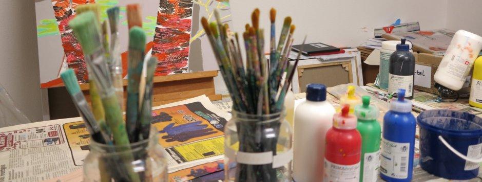Lars Stounbergs atelier