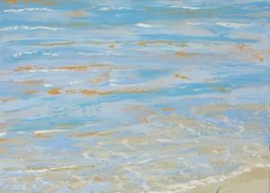 Havmaleri - Strand Ballehage 2015 - Billedkunstner Odder Lars Stounberg