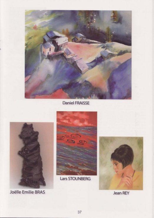 Lars Stounbergs maleri i kataloget - 53eme Salon International Beziers 2009