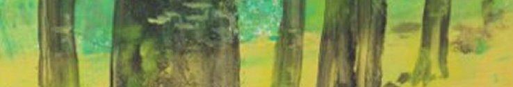 Maleri bøgeskov i maj - billedkunstner Lars stounberg