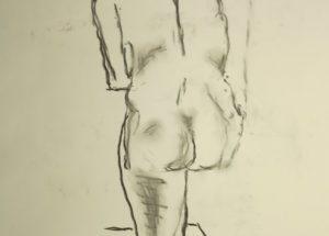 Croquis-tegning 2015 af billedkunstner Odder Lars Stounberg