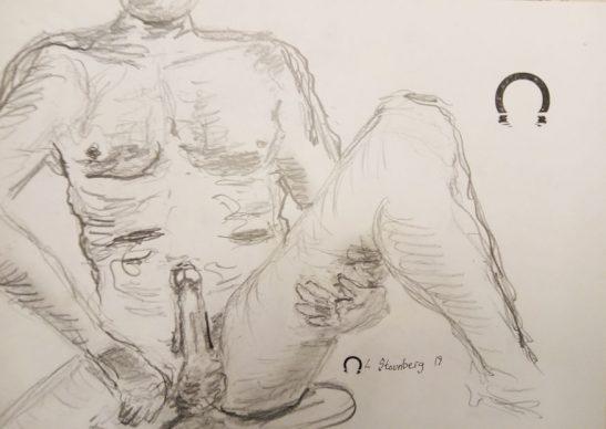 erotisk-mand-siddende 2018 Lars Stounberg