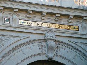 """该建筑为展览被称为 """"Galerie Jules Salles"""""""
