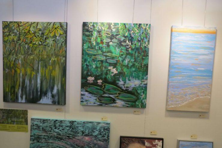 Malerier vandspejlinger 2016 Hillerødkunstdage
