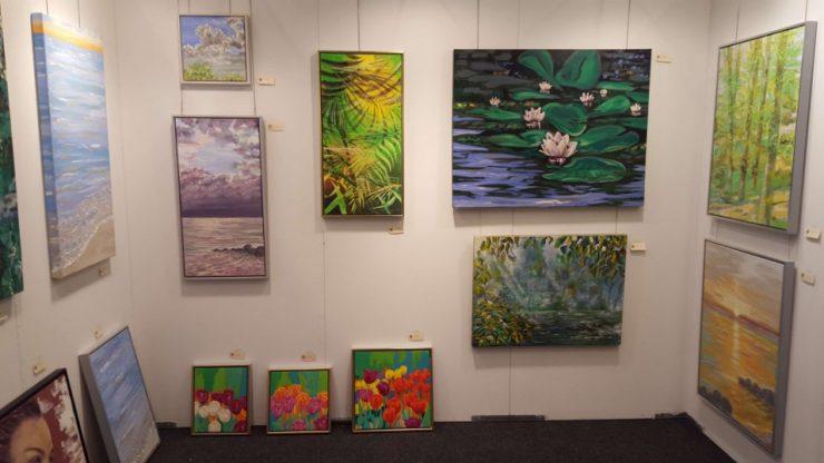 Naturmalerier på Hillerød Kunstdage 2016
