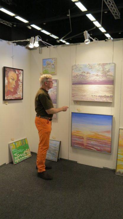 Hillerød Kunstdage 2015 - Lars Stounberg viser havmalerier