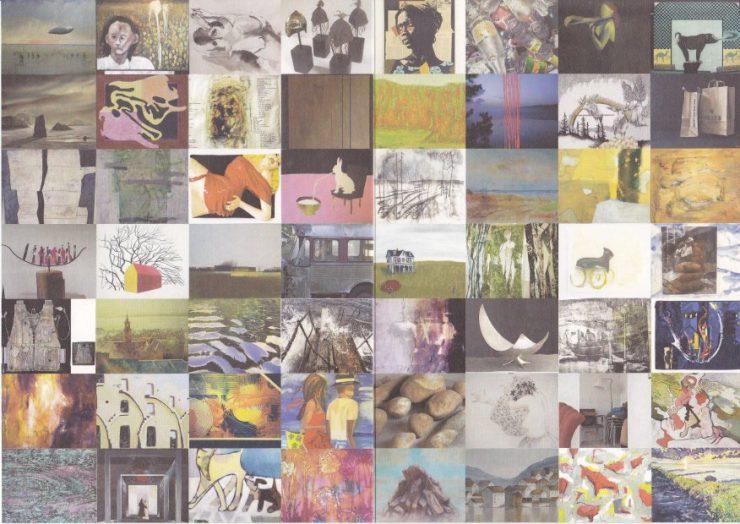 Katalog - KUNST på kryds / KONST på kryss - malerier af kunstnere 2015 - Helsingør kunstforening