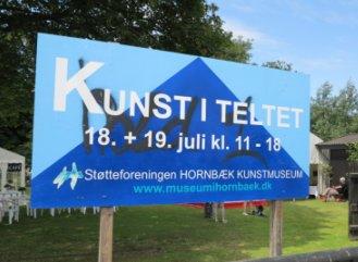 Kunst i teltet Hornbæk 2015