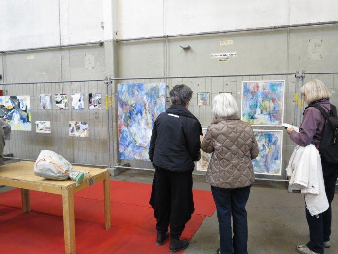 Kunst på Kryds 2015 - andre kunstnere malerier abstrakt