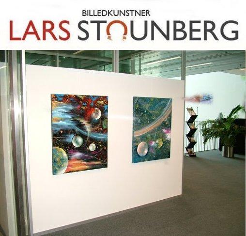 Udstilling i kunstforeninger - rederiet Torm Hellerup 2011 - billedkunstner Lars Stounberg