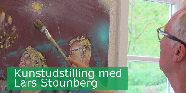 Maleriudstilling Erhvervshuset Boulevarden 13 - Odder - Billedkunstner Lars Stounberg