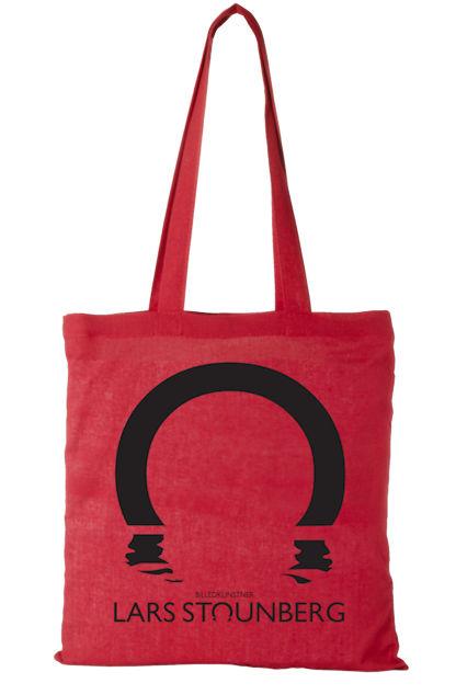 Logopose af billedkunstner Lars Stounberg