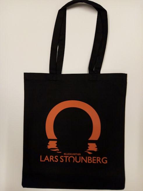 Lars Stounbergs nye mulepose med logo