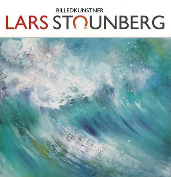 Havmalerier - Maleri hav strand - bølger Vesterhavet malet 2016 billedkunstner Lars Stounberg