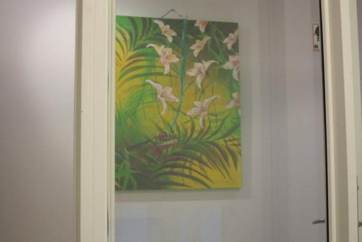Maleri-udstilling i Odder Boulevarden - 2017 - Maleri Troperne