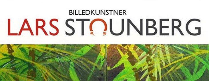 Malerier med regnskov billedkunstner Lars Stounberg