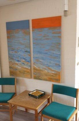 Malerier solgt til Saxild Strand
