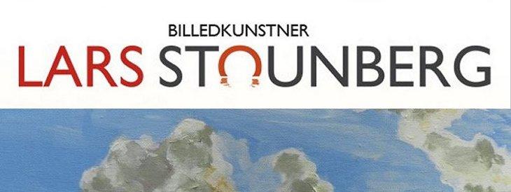 Malerier skyer billedkunstner Lars Stounberg
