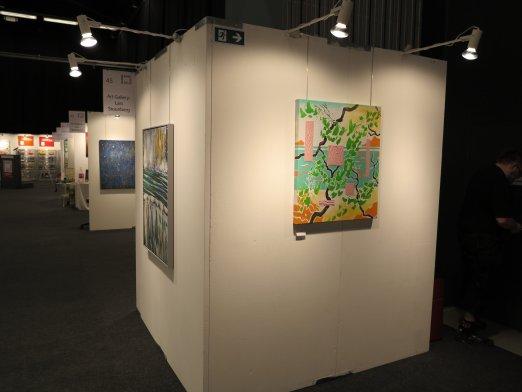Hillerod Kunstdage 2013 - Lars Stounbergs stand - maleri Graekenland