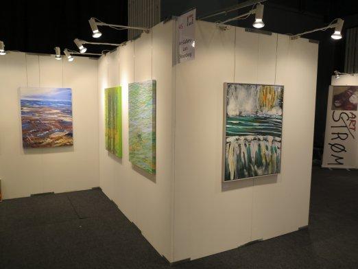 Hillerod Kunstdage 2013 - Lars Stounbergs stand