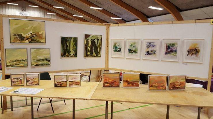 Kunstudstilling Ørting Hallen 2016