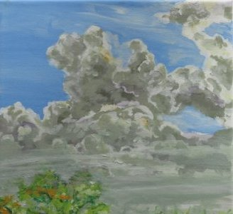 Painting Clouds 2015 - Lars Stounberg