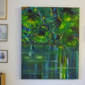 painting-waterrmirror-lake-lars-stounberg-2016
