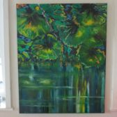painting-waterrmirror-lake-lars-stounberg-2016D