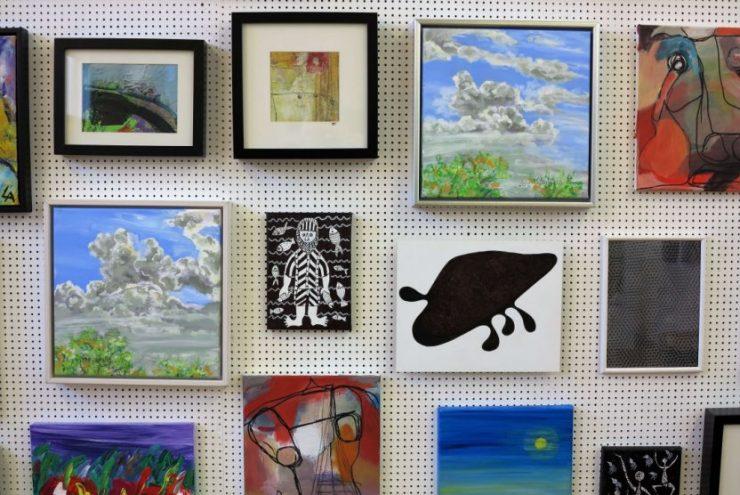Malerier med skyer - Lars Stounberg