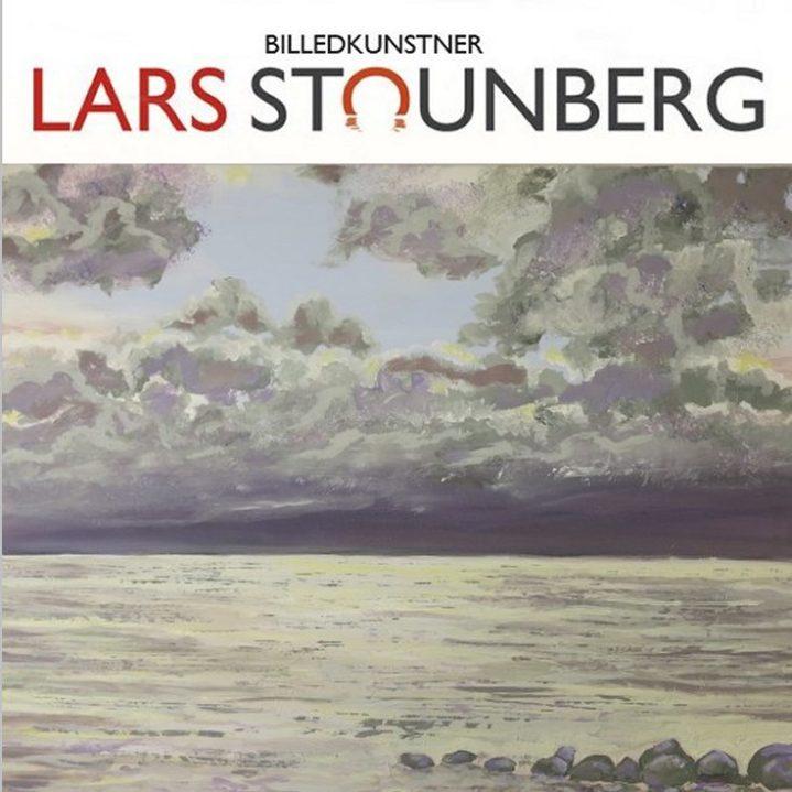 Maleri skyer og gråvejrsmorgen billedkunstner Lars Stounberg