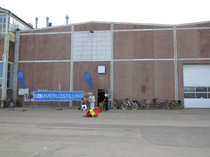 Udsigt til værftshallen i Helsingør